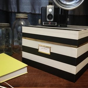 Kate Spade Striped Nesting Box